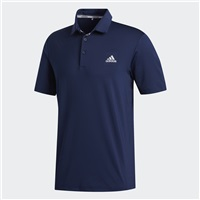 Adidas Ultimate365 2.0 Solid Polo Shirt Collegiate Navy/Grey Two