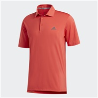 Adidas Ultimate365 2.0 Solid Polo Shirt Real Coral