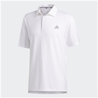 Adidas Ultimate365 2.0 Solid Polo Shirt White