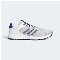 Adidas S2G Golf Shoes Cloud White/Tech Indigo/Grey Three