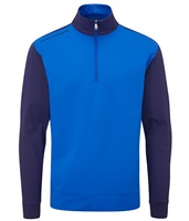 Oscar Jacobson Taylor Mid Layer Pullover Royal Blue