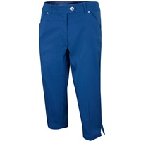 Island Green Ladies Capri Trousers Dark Navy