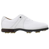 FootJoy Icon Black Mens Golf Shoes White Ivory