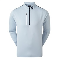 FootJoy Sleeve Stripe Chill-Out  Mid Layer Blue Fog/White/Navy