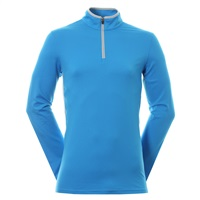 Puma Rotation 1/4 Zip Pullover Blue