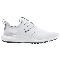 Puma Ignite NXT Pro Golf Shoes White/Silver/Grey Violet