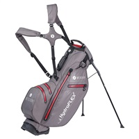 Motocaddy HydroFLEX Golf Stand Bag Charcoal/Red