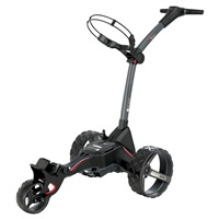 Motocaddy M1 DHC Electric Trolley Standard Lithium Battery Graphite