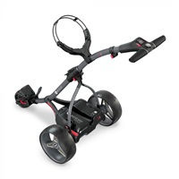 Motocaddy S1 Electric Golf Trolley Standard Lithium Battery Graphite/Red