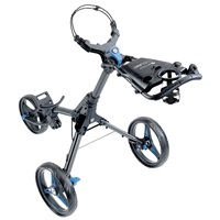 Motocaddy Cube Push Golf Trolley Graphite/Blue