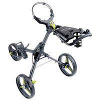 Motocaddy Cube Push Golf Trolley Graphite/Lime