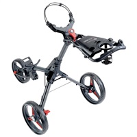 Motocaddy 2020 Cube Push Golf Trolley Graphite/Red