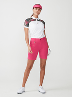 Rohnisch Ladies Element Block Poloshirt Palm Fuchsia