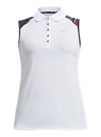 Rohnisch Ladies Element Sleeveless Poloshirt Palm Fuchsia