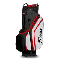 Titleist Cart 14 Lightweight Cart Bag Black/White/Red