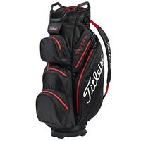 Titleist StaDry Golf Cart Bag Black/Red
