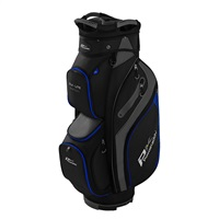 Powakaddy DLX-Lite Edition Cart Bag Black/Titanium/Blue