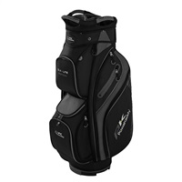 Powakaddy DLX-Lite Edition Cart Bag Black/Titanium/Silver