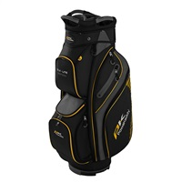 Powakaddy DLX-Lite Edition Cart Bag Black/Titanium/Yellow