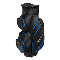 Powakaddy Dri Tech Cart Bag Black/Gun Metal/Blue