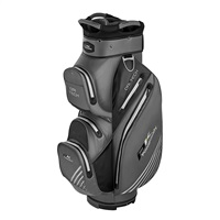 Powakaddy Dri Tech Cart Bag Titanium/Black/Silver