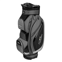 Powakaddy Premium Edition Cart Bag Titanium/Black/Silver
