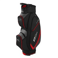 Powakaddy X-Lite Cart Bag Black/Red/Titanium