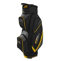Powakaddy X-Lite Cart Bag Black/Yellow/Titanium