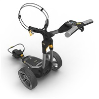 Powakaddy CT6 Electric Trolley 18 Hole Lithium Battery Gunmetal Metallic