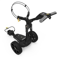 Powakaddy FX3 EBS Electric Trolley 18 Hole Lithium Battery Classic Black