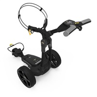 Powakaddy FX3 Electric Trolley 18 Hole Lithium Battery Classic Black