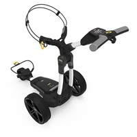 Powakaddy FX3 Electric Trolley 18 Hole Lithium Battery Polar White