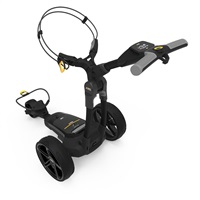 Powakaddy FX3 Electric Trolley 36 Hole Lithium Battery Classic Black