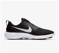 Nike Golf Roshe G Golf Shoes Black/White/Metallic White