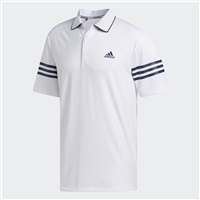 Adidas Ultimate365 Blocked Polo Shirt White/Collegiate Navy