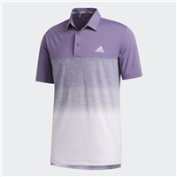 Adidas Ultimate365 Print Polo Shirt Tech Purple/Purple Tint