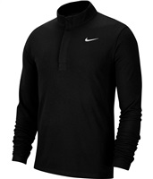 Nike Golf Dri-FIT Victory Half Zip Top Black/Black/White