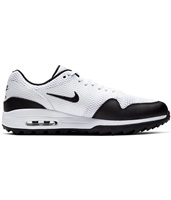 Nike Golf Air Max 1 G Golf Shoes - White/Black