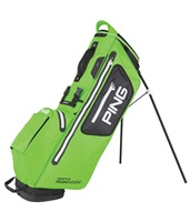 Ping Hoofer Monsoon Stand Bag Electric Lime Green/Black