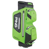 Ping Pioneer Monsoon Waterproof Golf Cart Bag Electric Lime Green/Black
