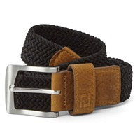 FootJoy Braided Belt Black