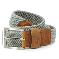 FootJoy Braided Belt Grey