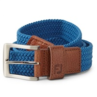 FootJoy Braided Belt Royal Blue