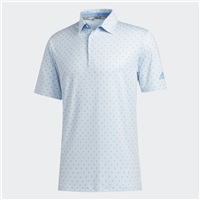 Adidas Ultimate365 Badge Of Sport Polo Shirt Sky Tint/Light Blue
