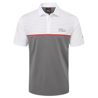 Oscar Jacobson Hurstbourne Polo Shirt Charcoal