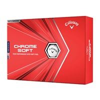 Callaway Chrome Soft Golf Balls White