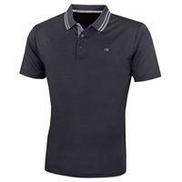 Calvin Klein Golf Madison Polo Shirt Charcoal Marl