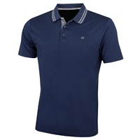 Calvin Klein Golf Madison Polo Shirt Navy Marl