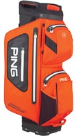 Ping Pioneer Monsoon Cart Bag Atomic Orange/Black