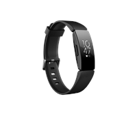 Fitbit Inspire HR Health and Fitness Tracker Black